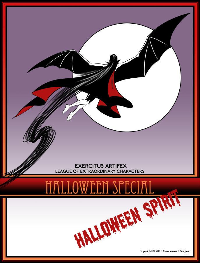 EALEC: Halloween Spirit-Title by QueenGwenevere