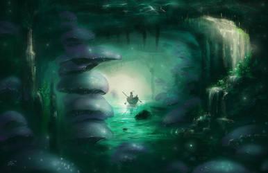 Cavern Gardens, Speed Paint by DireImpulse