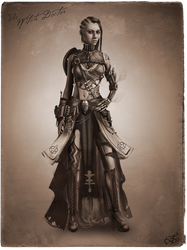 Tribal Steampunk Villain Concept: Witchdoctor by DireImpulse