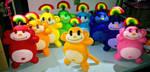Rainbow Monkeys by TashaAkaTachi