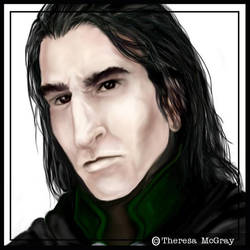 Severus Snape by mcgray