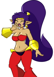 Shantae Is Tired by reyalty