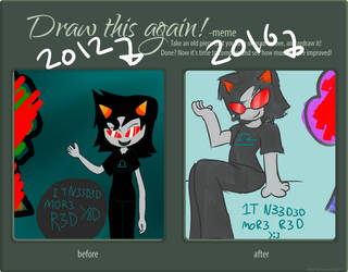 Draw It Again - Terezi Pyrope by reyalty