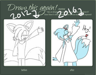 Draw It Again - Eppa The Fox by reyalty