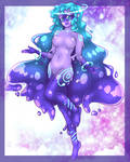 Galaxy Slime (Commission) by Nine-Tailed-Fox