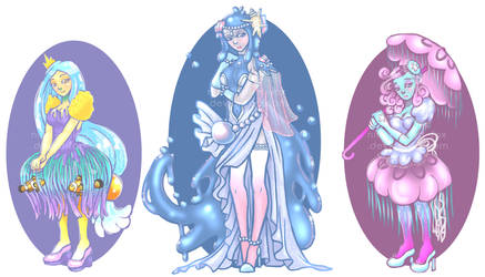 OPEN AUCTION - Ocean Royalty by Nine-Tailed-Fox