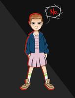 Eleven // Stranger Things by fandomdork