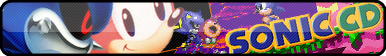 Sonic CD Fan Button by OrageSpark