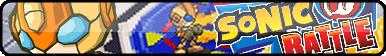 Sonic Battle Fan Button by OrageSpark