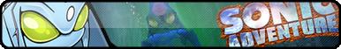 Sonic Adventure Fan Button by OrageSpark