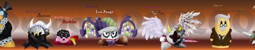 The Dark Knight :Kirby-Batman: by dragon2000200