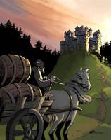 Castle Day by joelsaavedra