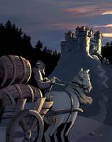 Castle Night by joelsaavedra