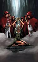 Priestess by joelsaavedra