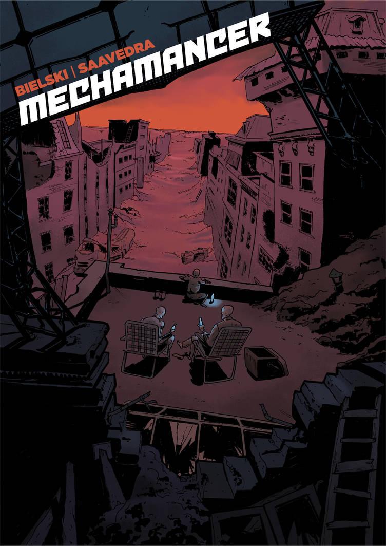 Mechamancer Cover by joelsaavedra