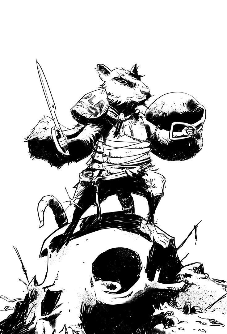 Rat Warrior by joelsaavedra
