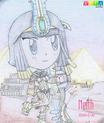 Neith (Smite) by xander64lmh