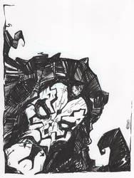 Darth Maul sketch by Natesquatch
