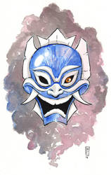 The blue spirit by Natesquatch