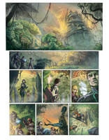 Sci-Fi comic color test by GiuliaPriori