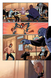 Spider man and the X-Men test page by GiuliaPriori