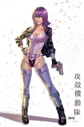 Motoko Kusanagi COLORS by GiuliaPriori