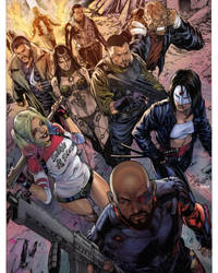 Suicide Squad by Diego Bernard Color by GiuliaPriori