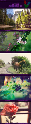 Nature Actions II by ViktorGjokaj