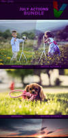 July Photoshop Actions Bundle by ViktorGjokaj