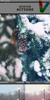 Winter Actions by ViktorGjokaj