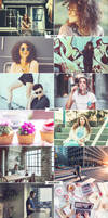 4 IN 1 Photoshop Actions Bundle MAY 2 by ViktorGjokaj