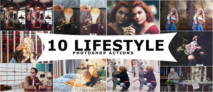 Lifestyle Photoshop Actions by ViktorGjokaj