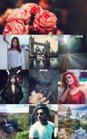 Random Photoshop Actions by ViktorGjokaj