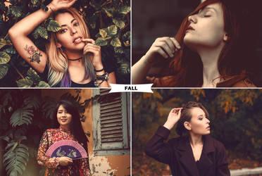 Fall Action by ViktorGjokaj