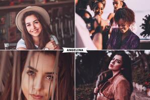 Angelina Action by ViktorGjokaj