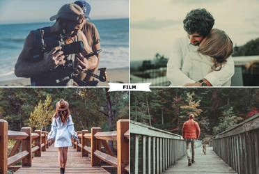 Film Photoshop Actions by ViktorGjokaj