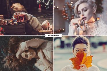 Blogger Photoshop Actions by ViktorGjokaj