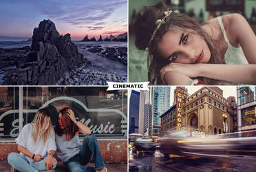 Cinematic Photoshop Actions by ViktorGjokaj