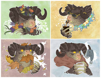 Four Seasons by Endivinity