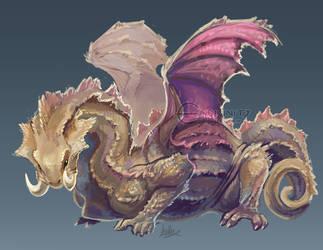 Chameleon Dragon by Endivinity