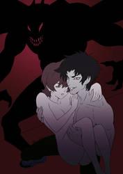 Devilman Crybaby Fanart by WhisperingDreamsart