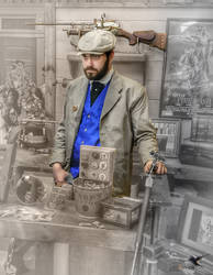 WWWC7 The Court House Steampunk Gallery 1903 by PhotosbyRaVen