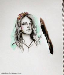 Lana Del Rey by ROSALIAN