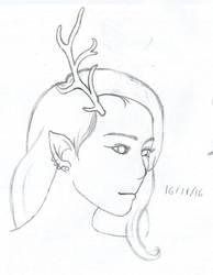 Iseul(Esue) sketch WIP by Jigoku-Rui-chan