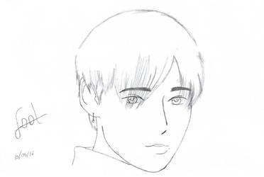 WINNER Jinwoo Fool MV Screenshot Sketch by Jigoku-Rui-chan