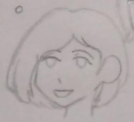 2015 headshot sketch by Jigoku-Rui-chan