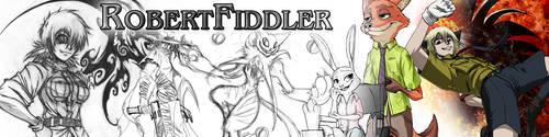 New Patreon Header by RobertFiddler