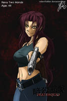 Commission - Revy Two Hands by RobertFiddler