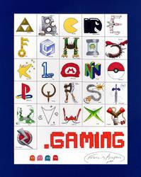 Gaming Alphabet by BluDrgn426