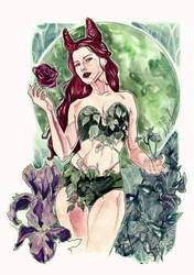 Poison Ivy pinup! :) by Bella-Rachlin